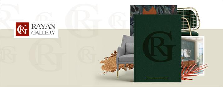 طراحی وب سایت شرکت رایان گالری